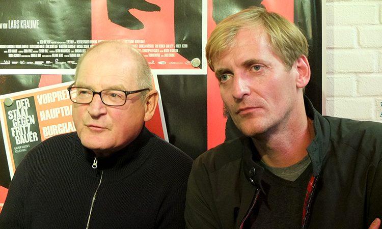 Burghart Klaußner und Lars Kraume